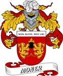 Moner Coat of Arms, Family Crest