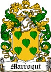 Marroqui Coat of Arms, Family Crest