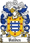 Valdez Coat of Arms, Family Crest