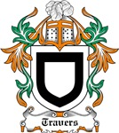 Travers Coat of Arms, Family Crest