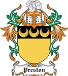 Preston Coat of Arms, Family Crest