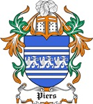 Piers Coat of Arms, Family Crest