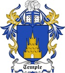 Temple Coat of Arms, Family Crest