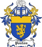 Ponton Coat of Arms, Family Crest