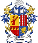 Dirom Coat of Arms, Family Crest