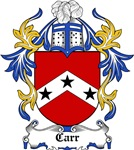 Carr Coat of Arms, Family Crest