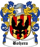 Bohera Coat of Arms, Family Crest