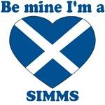Simms, Valentine's Day