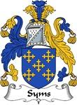 Syms Family Crest