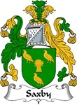 Saxby Family Crest