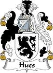 Hues Family Crest