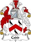 Codd Family Crest