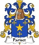 Pariset Family Crest