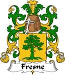Fresne Family Crest