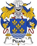 Pizano Family Crest