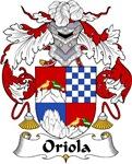 Oriola Family Crest