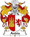 Andia Family Crest
