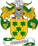 Figueroa Family Crest / Figueroa Coat of Arms