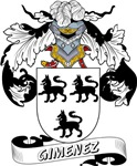 Gimenez Family Crest / Gimenez Coat of Arms