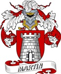 Martin Family Crest / Martin Coat of Arms