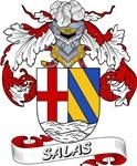 Salas Family Crest / Salas Coat of Arms