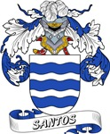 Santos Family Crest / Santos Coat of Arms