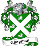 Chapman Family Crest, Coat of Arms