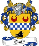 Clark Family Crest, Coat of Arms
