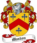 Maxton Family Crest, Coat of Arms
