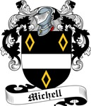 Michell Family Crest, Coat of Arms