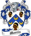 Morris Family Crest, Coat of Arms