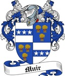 Muir Family Crest, Coat of Arms