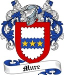 Mure Family Crest, Coat of Arms