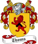 Thoms Family Crest, Coat of Arms