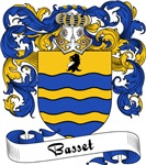 Basset Family Crest, Coat of Arms