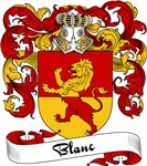 Blanc Family Crest, Coat of Arms
