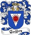 Geoffroy Family Crest, Coat of Arms