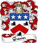 Grenier Family Crest, Coat of Arms