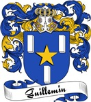 Guillemin Family Crest, Coat of Arms