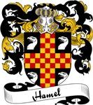 Hamel Family Crest, Coat of Arms