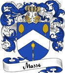 Masse Family Crest, Coat of Arms