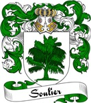 Soulier Family Crest, Coat of Arms