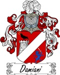 Damiani Family Crest, Coat of Arms