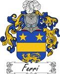 Ferri Family Crest, Coat of Arms