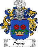 Fiorini Family Crest, Coat of Arms