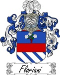 Floriani Family Crest, Coat of Arms