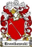 Bronikowski Family Crest, Coat of Arms