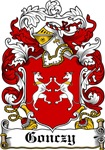 Gonczy Family Crest, Coat of Arms