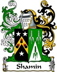Shamin Family Crest, Coat of Arms