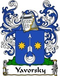 Yavorsky Family Crest, Coat of Arms
